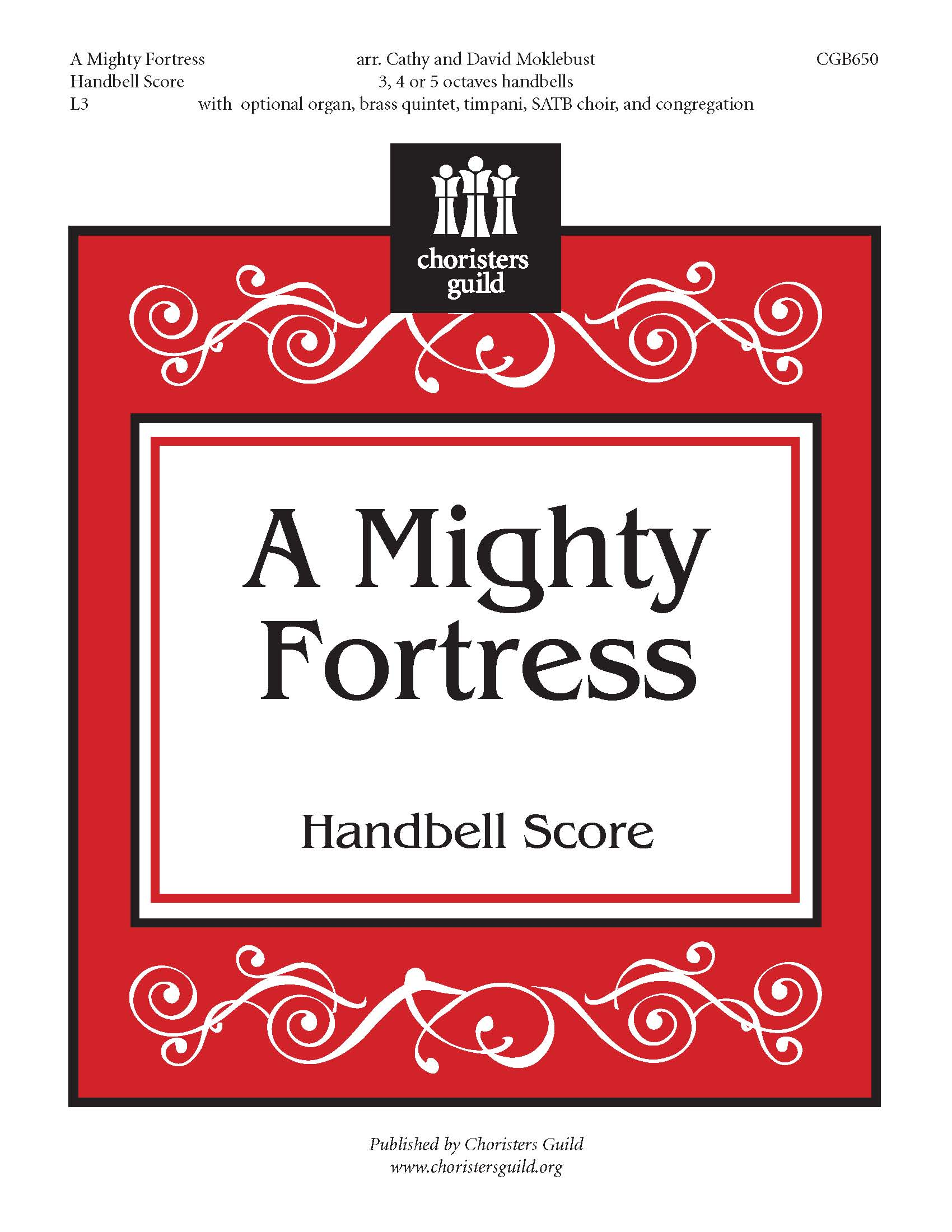 A Mighty Fortress Handbell Score