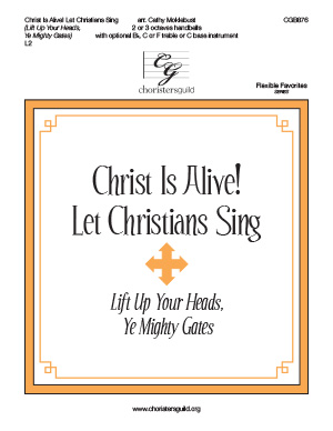 Christ is Alive! Let Christsians Sing! (2 or 3 octaves)