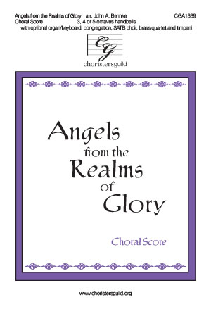 Angels from the Realms of Glory - Choral Score