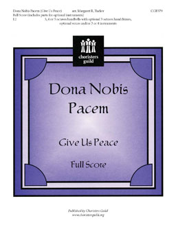 Dona Nobis Pacem (Full Score, includes instrumental parts)