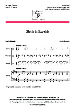 Gloria in Excelsis - Audio Download