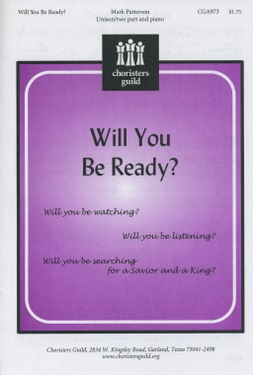 Will You Be Ready? - Audio Download