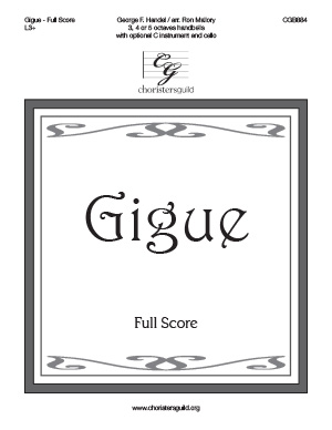 Gigue - Full Score