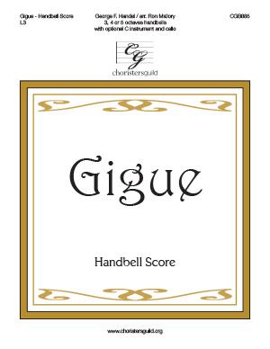 Gigue - Handbell Score