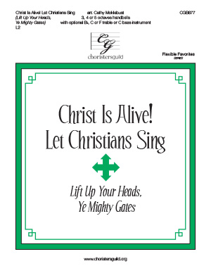 Christ is Alive! Let Christians Sing! (3, 4 or 5 octaves)