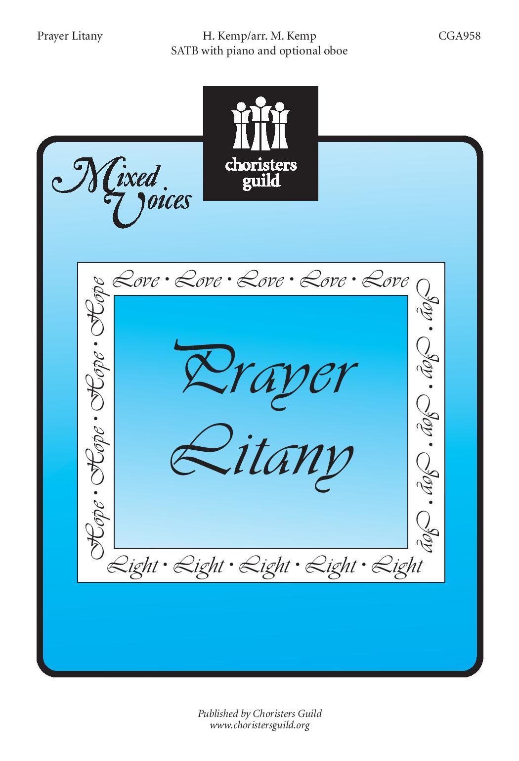 Prayer Litany SATB