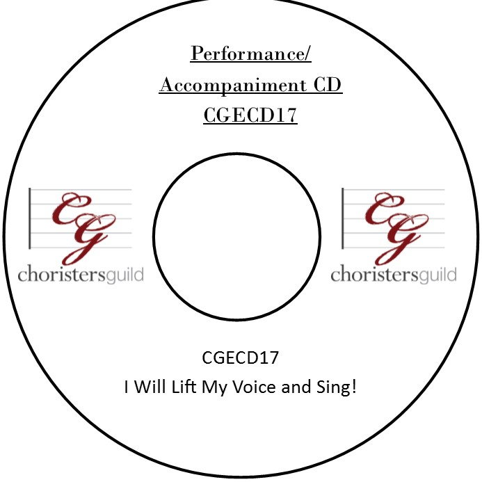 I Will Lift My Voice and Sing! (Accompaniment CD)