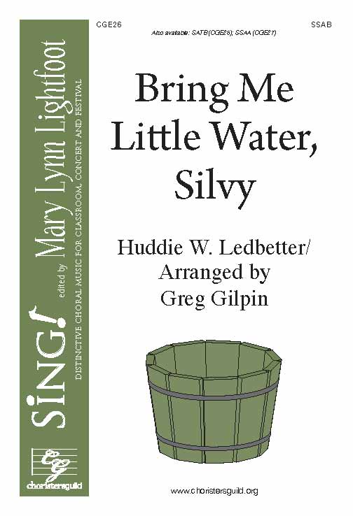 Bring Me Little Water, Silvy (SSAB a cappella with Opt. Percussion)