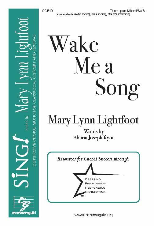 Wake Me a Song (Three-Part Mixed)