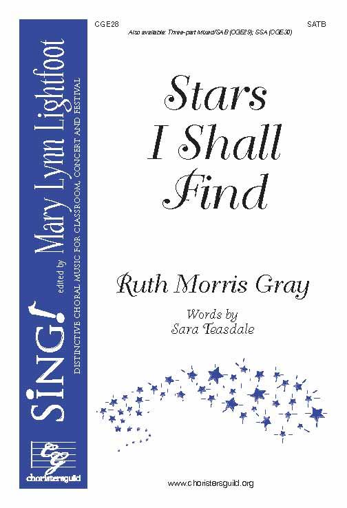 Stars I Shall Find (SATB)
