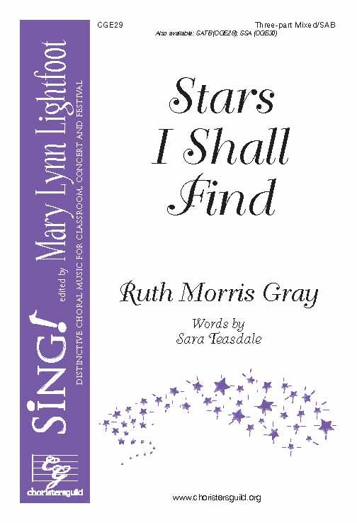 Stars I Shall Find (Three-Part Mixed)