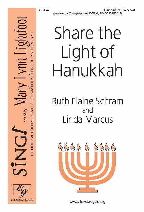 Share the Light of Hanukkah (Unison/Twp-Part)