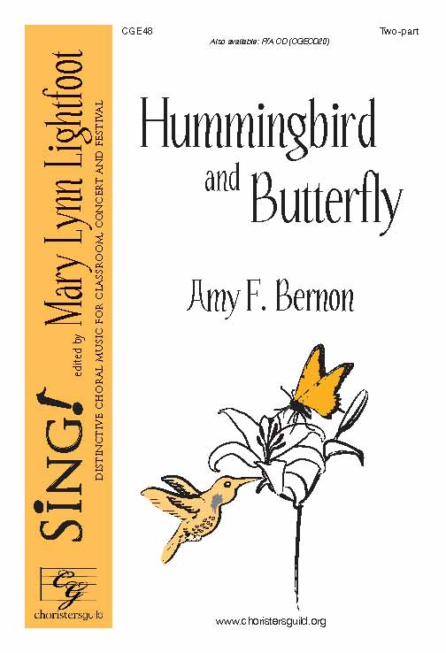 Hummingbird and Butterfly (Two-Part)