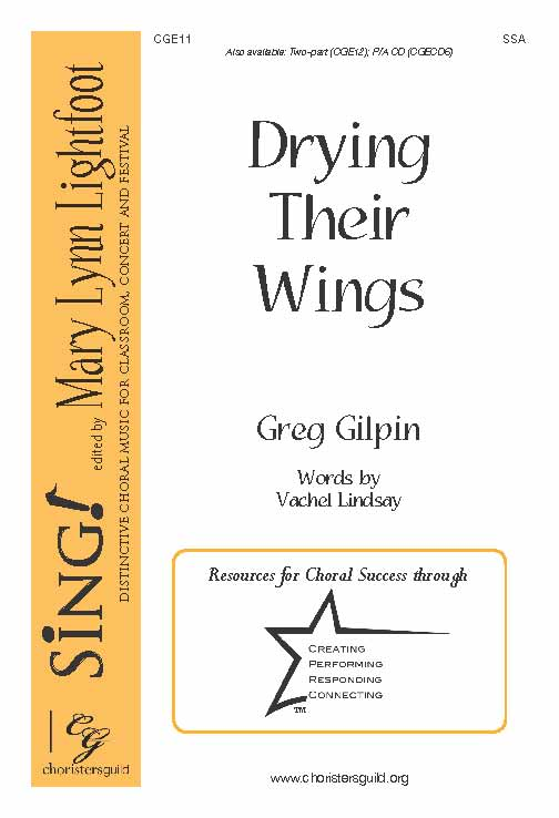 Drying Their Wings (SSA)