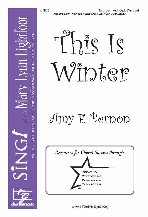 This Is Winter (Two-Part with Opt. Descant)
