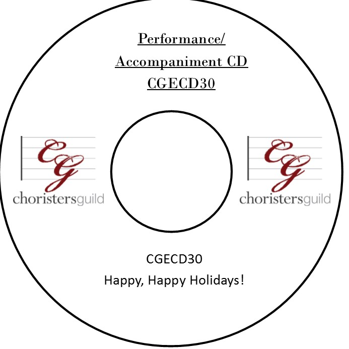 Happy, Happy Holidays! (Accompaniment CD)