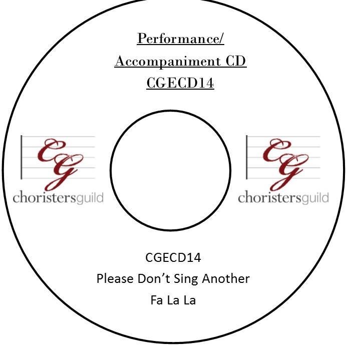 Please Don't Sing Another Fa La La (Accompaniment CD)