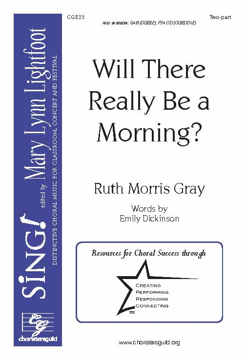 Will There Really Be A Morning? (Two-Part)
