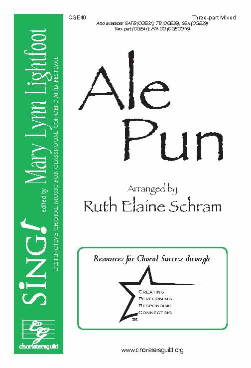 Ale Pun (Three-Part Mixed with Opt. Percussion)