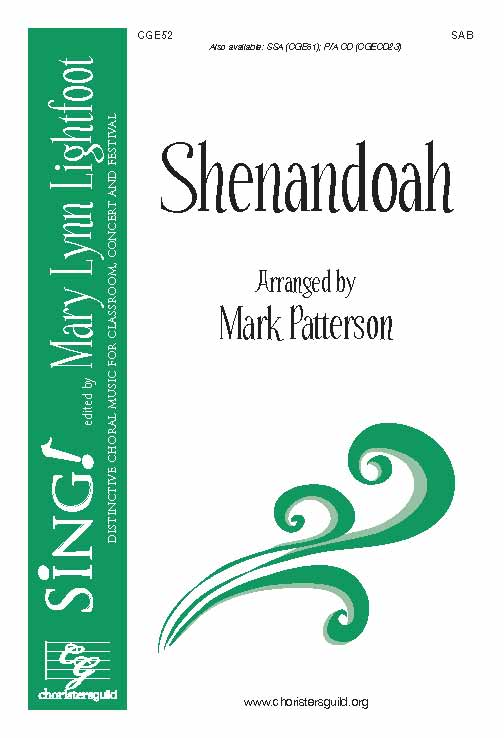Shenandoah (SAB with Opt. Viola)
