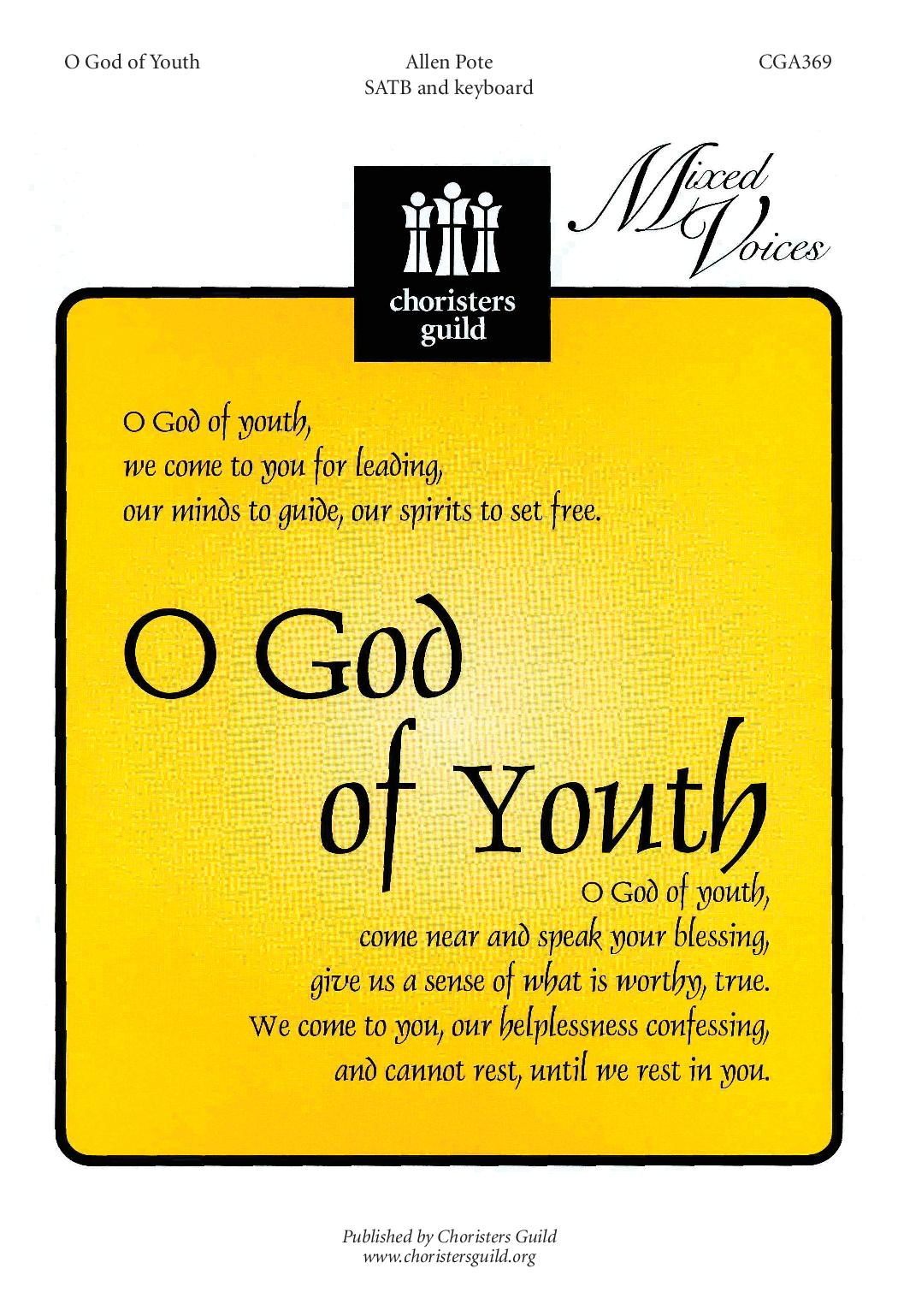 O God of Youth
