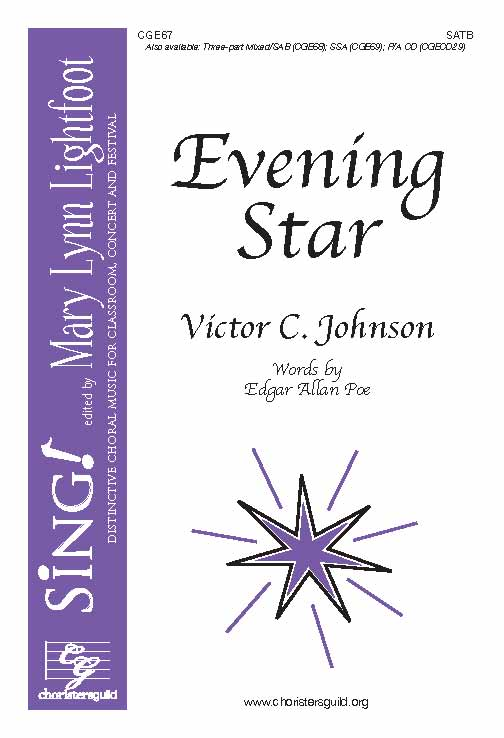 Evening Star (SATB with Opt. Cello)