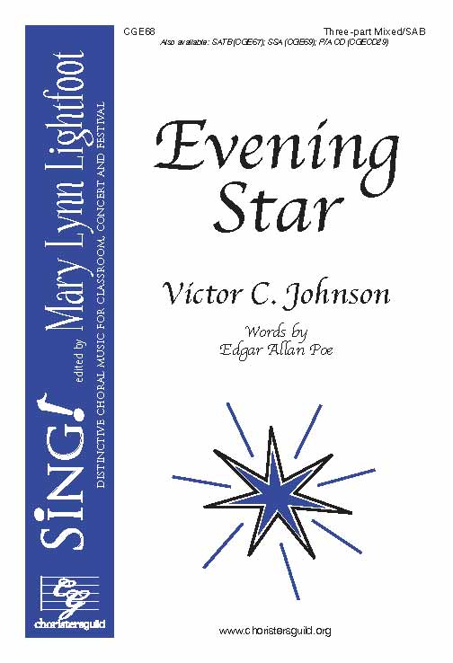 Evening Star (Three-Part Mixed with Opt. Cello)