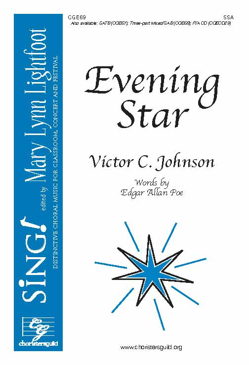 Evening Star (SSA with Opt. Cello)
