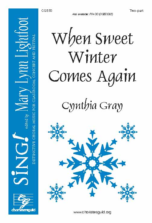 When Sweet Winter Comes Again (Two-Part with Opt. 3 - 4 Part Round)