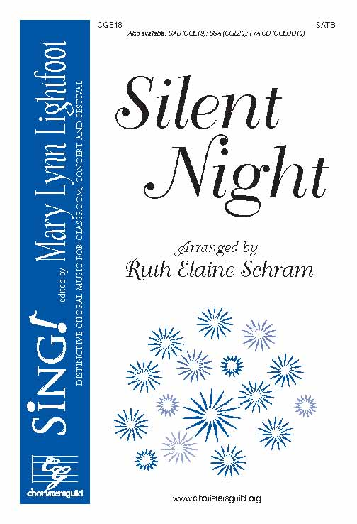 Silent Night (SATB with Opt. Cello)