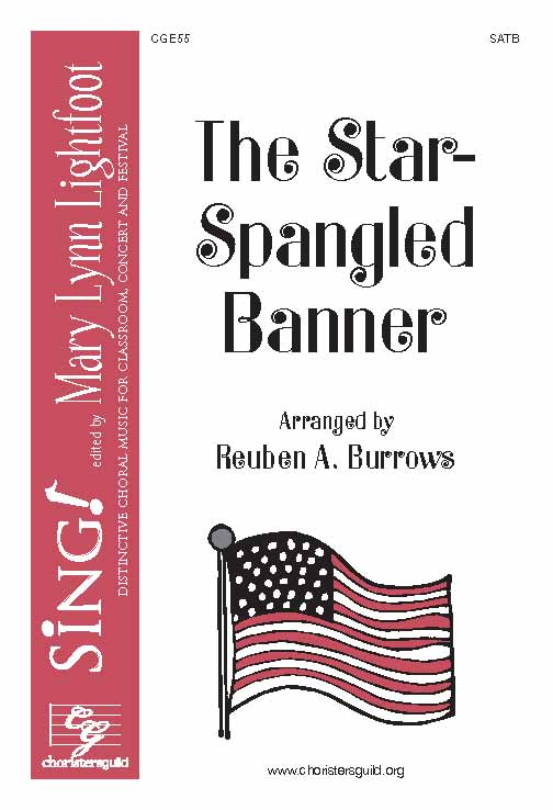 The Star-Spangled Banner (SATB a cappella)