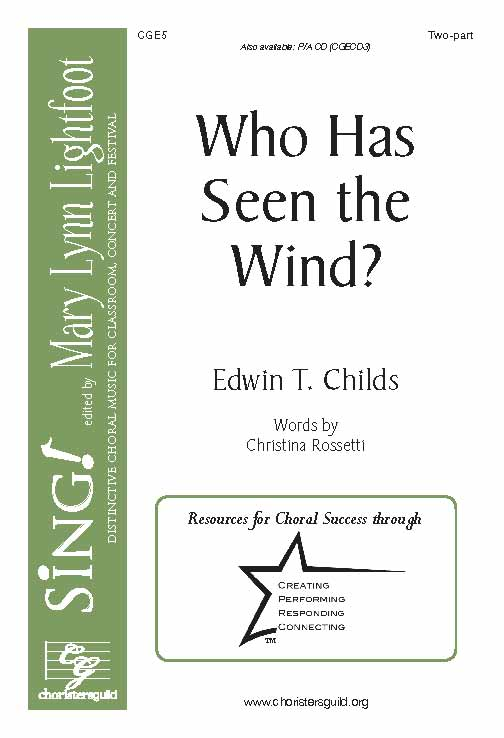 Who Has Seen the Wind? (Two-Part with Opt. Flute)