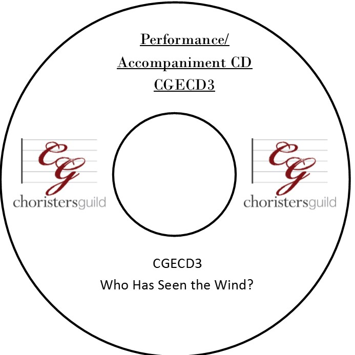 Who Has Seen the Wind? (Accompaniment CD)