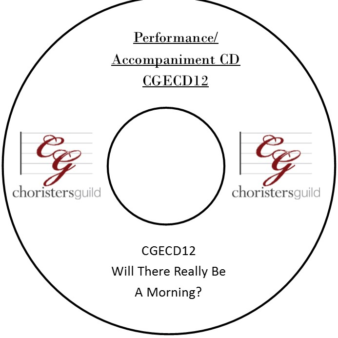 Will There Really Be A Morning? (Accompaniment CD)
