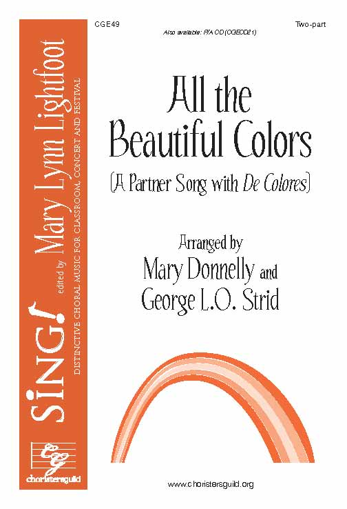 All the Beautiful Colors (A Partner Song with De Colores) (Two-Part)