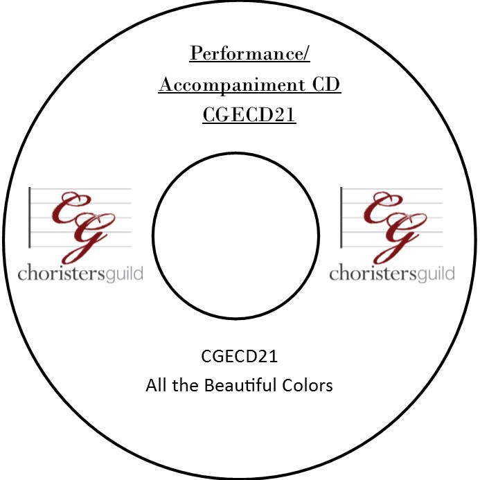 All the Beautiful Colors (A Partner Song with De Colores) (Accompaniment CD)