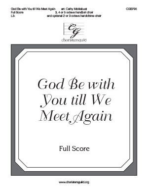 God Be with You till We Meet Again - Full Score