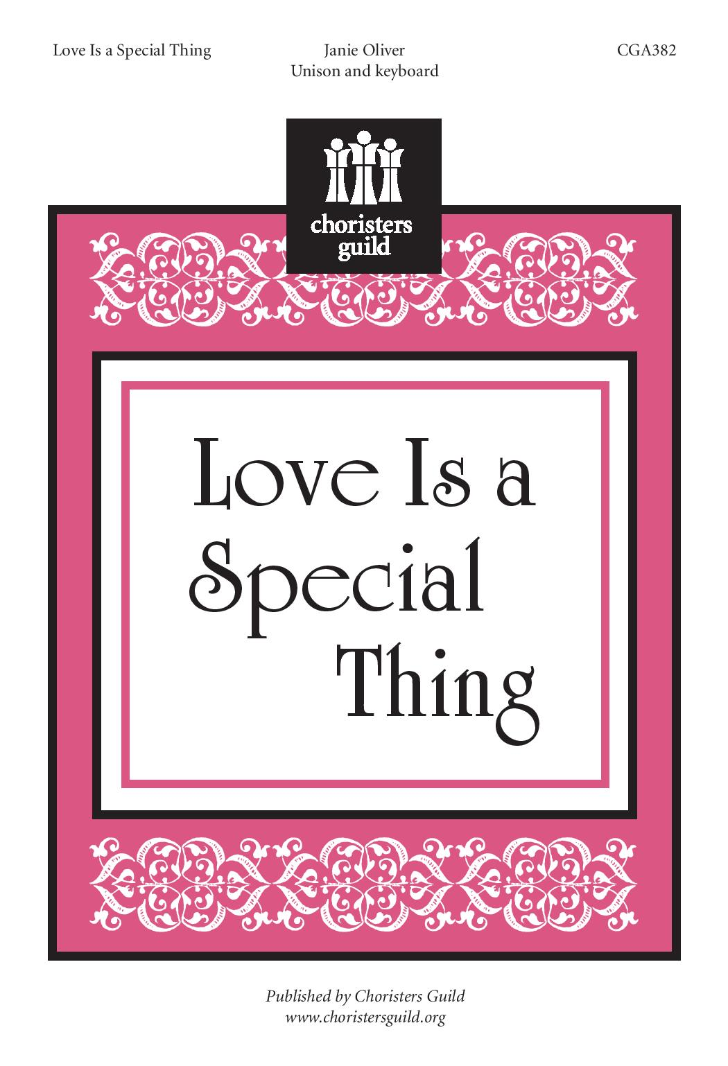 Love Is a Special Thing