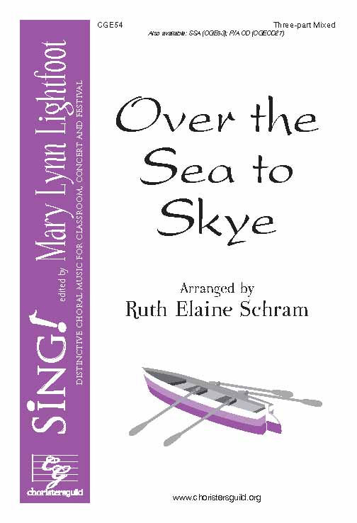 Over the Sea to Skye (Three-Part Mixed with Opt. Violin)