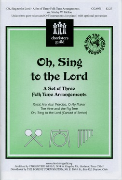 Oh, Sing to the Lord