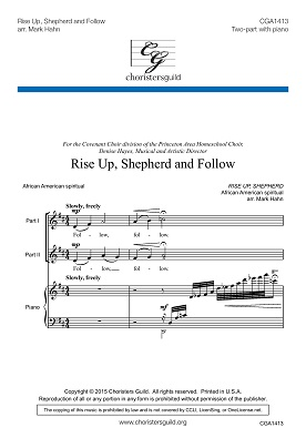Rise Up, Shepherd and Follow (Two-part)