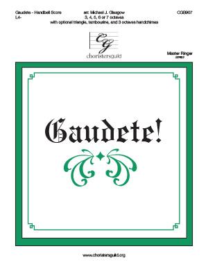 Gaudete! - Handbell Score