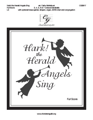 Hark! the Herald Angels Sing - Full Score