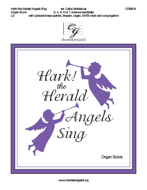 Hark! the Herald Angels Sing - Organ Score