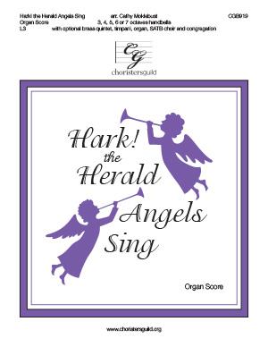 Hark! the Herald Angels Sing - Organ Score