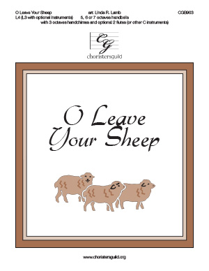 O Leave Your Sheep