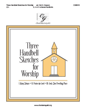 Three Handbell Sketches for Worship