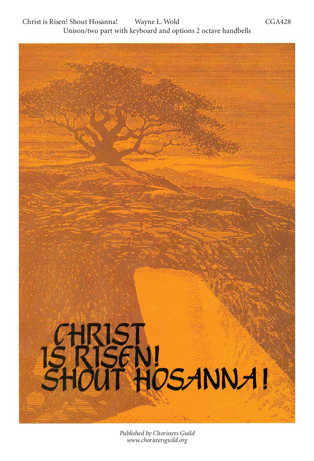 Christ is Risen Shout Hosanna