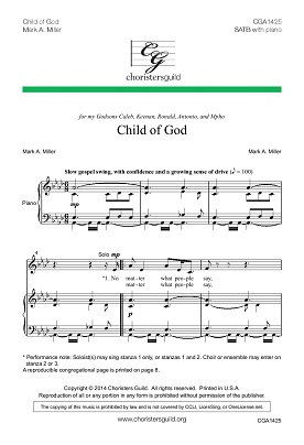 Child of God Accompaniment Track