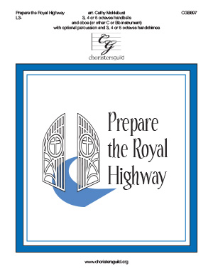 Prepare the Royal Highway (3, 4 or 5 octaves)